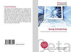 Bookcover of Gang Scheduling