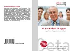 Bookcover of Vice President of Egypt