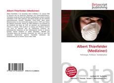 Portada del libro de Albert Thierfelder (Mediziner)