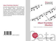 Bookcover of Albert Thierfelder (Musiker)