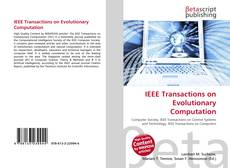 Bookcover of IEEE Transactions on Evolutionary Computation