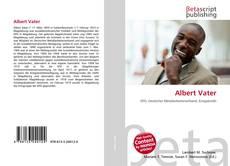 Bookcover of Albert Vater