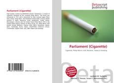 Bookcover of Parliament (Cigarette)