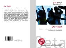 Portada del libro de War Chant