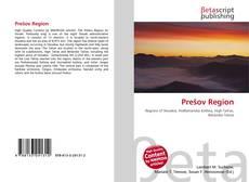 Bookcover of Prešov Region