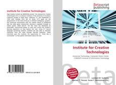 Buchcover von Institute for Creative Technologies