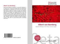 Couverture de Albert von Bamberg