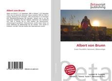 Portada del libro de Albert von Brunn