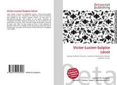 Victor-Lucien-Sulpice Lécot kitap kapağı