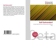 Buchcover von Ralf Dahrendorf