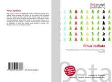 Buchcover von Pinus radiata