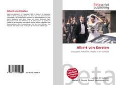 Capa do livro de Albert von Kersten