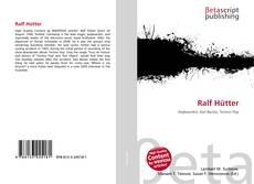 Buchcover von Ralf Hütter