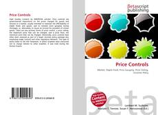 Bookcover of Price Controls