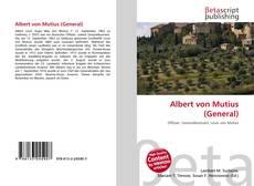 Buchcover von Albert von Mutius (General)