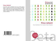 Borítókép a  Pinus nelsonii - hoz