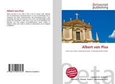 Albert von Pisa kitap kapağı