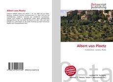 Bookcover of Albert von Ploetz