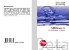 Buchcover von Ralf Rangnick