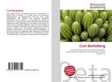 Buchcover von Curt Backeberg