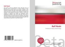 Buchcover von Ralf Reski