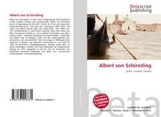Copertina di Albert von Schirnding