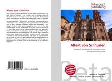 Albert von Schnürlen kitap kapağı