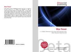Bookcover of War Fever