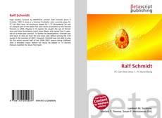 Ralf Schmidt kitap kapağı