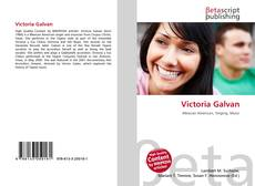 Bookcover of Victoria Galvan