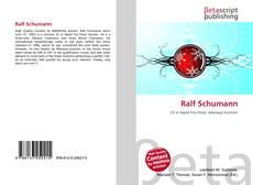 Bookcover of Ralf Schumann
