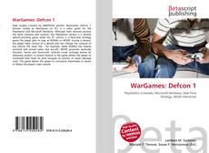 Buchcover von WarGames: Defcon 1