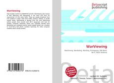 Bookcover of WarViewing