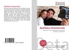 Backfokus (Fototechnik) kitap kapağı