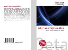 Albert von Toerring-Stein kitap kapağı
