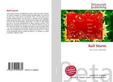 Bookcover of Ralf Sturm
