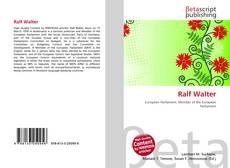 Buchcover von Ralf Walter