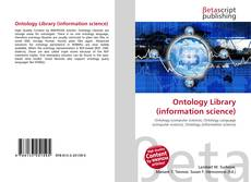 Bookcover of Ontology Library (information science)