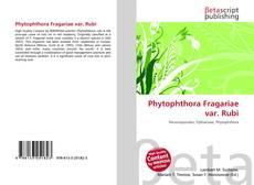 Bookcover of Phytophthora Fragariae var. Rubi