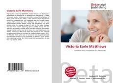 Buchcover von Victoria Earle Matthews
