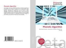 Bookcover of Phonetic Algorithm