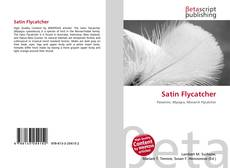 Bookcover of Satin Flycatcher