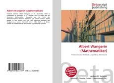 Portada del libro de Albert Wangerin (Mathematiker)