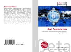 Bookcover of Real Computation