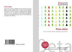 Bookcover of Picea abies