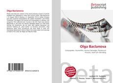 Copertina di Olga Baclanova