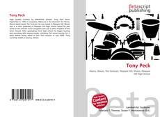 Buchcover von Tony Peck