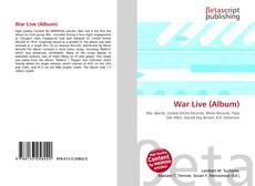 Bookcover of War Live (Album)