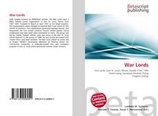 Buchcover von War Lords