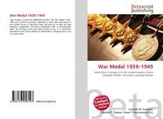 Capa do livro de War Medal 1939–1945